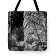 Sandstone Arch Jerome Black And White Tote Bag