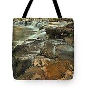 Sandstone Falls Tote Bag