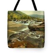 Sandstone Falls Landscape Tote Bag