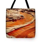 Sandstone Highway Tote Bag