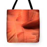 Sandstone  Ledges And Swirls Tote Bag