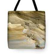 Sandstone Sediment Smoothed And Rounded By Water Tote Bag