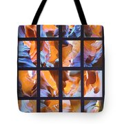 Sandstone Sunsongs Blues Photo Assemblage Tote Bag
