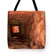 Sandstone Tunnel Tote Bag