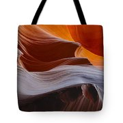 Sandstone Waves Tote Bag