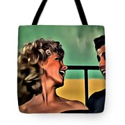 Sandy And Danny Tote Bag
