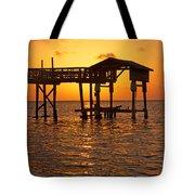 Sandy Bay Sunset Tote Bag