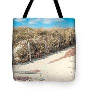 Sandy Dunes In Holland Tote Bag