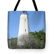 Sandy Hook Lighthouse II Tote Bag