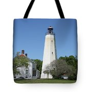 Sandy Hook Lighthouse IIi - N  J Tote Bag