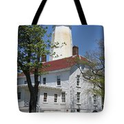 Sandy Hook Lighthouse Iv Tote Bag