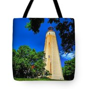 The Sandy Hook Lighthouse Tote Bag