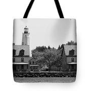 Sandy Hook New Jersey Lighthouse Tote Bag