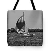 Sandy Hook Sailing II Tote Bag