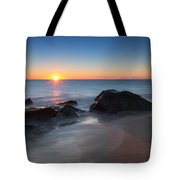 Sandy Hook Sunburst Tote Bag