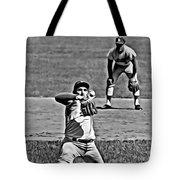 Sandy Koufax Painting Tote Bag