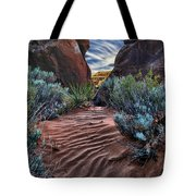 Sandy Trail Arches National Park Tote Bag