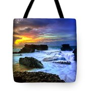 Sandys Early Morning Tote Bag