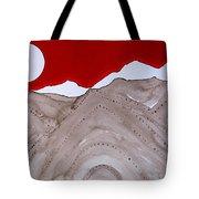 Sangre De Cristo Peaks Original Painting Tote Bag