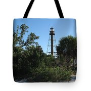 Sanibel Island Lighthouse Tote Bag