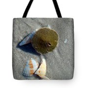 Sanibel Sand Dollar 1 Tote Bag