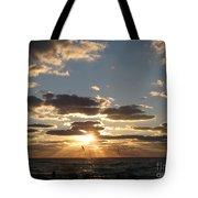 Sanibel Sunset Tote Bag