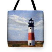 Sankaty Head Lighthouse Nantucket Massachusetts Tote Bag