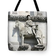 Sankt Martin Statue Lucca Tote Bag