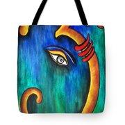 Sanskrit Om Ganesha Tote Bag