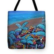 Santa Barbara Beach Tote Bag by Barbara St Jean