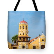 Santa Barbara Church Tote Bag