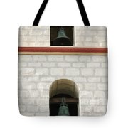 Santa Barbara Mission Bells Tote Bag
