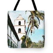 Santa Barbara Palms Tote Bag