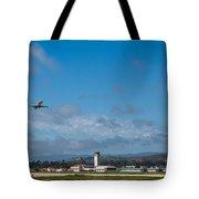 Santa Barbara Takeoff Tote Bag