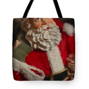 Santa Claus - Antique Ornament - 02 Tote Bag