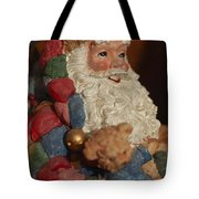 Santa Claus - Antique Ornament - 03 Tote Bag