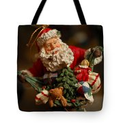 Santa Claus - Antique Ornament - 04 Tote Bag