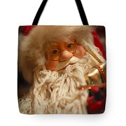 Santa Claus - Antique Ornament - 08 Tote Bag