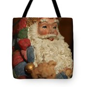 Santa Claus - Antique Ornament - 09 Tote Bag by Jill Reger