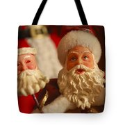 Santa Claus - Antique Ornament - 12 Tote Bag by Jill Reger