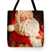 Santa Claus - Antique Ornament - 13 Tote Bag by Jill Reger