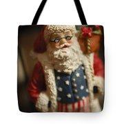 Santa Claus - Antique Ornament - 15 Tote Bag