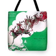 Santa Claus Is Comin To Town Tote Bag