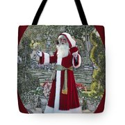 Santa Claus Walt Disney World Oval Tote Bag