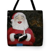 Santa Clause Tote Bag