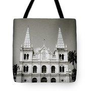 Santa Cruz Basilica In Cochin Tote Bag