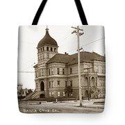 Santa Cruz High School On Walnut Street. Circa 1910 Photo By Besaw Tote Bag