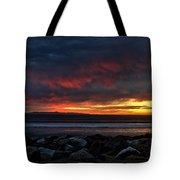 Santa Cruz Rocks Tote Bag