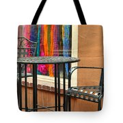 Santa Fe Cafe And Boutique Tote Bag