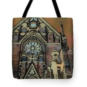 Santa Fe Cathedral Tote Bag